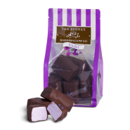 Chocolate Violet Marshmallows