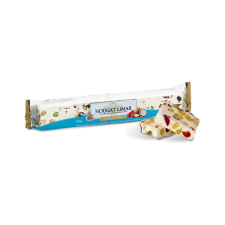 Coconut & Red Berry Nougat – log