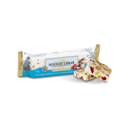 Coconut & Red Berries Nougat – half log
