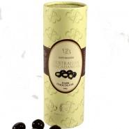 Macadamias In Dark Chocolate / Paper Cylinder