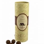 Macadamias In Milk Chocolate / Paper Cylinder